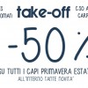 Tutto al 50% da Take Off